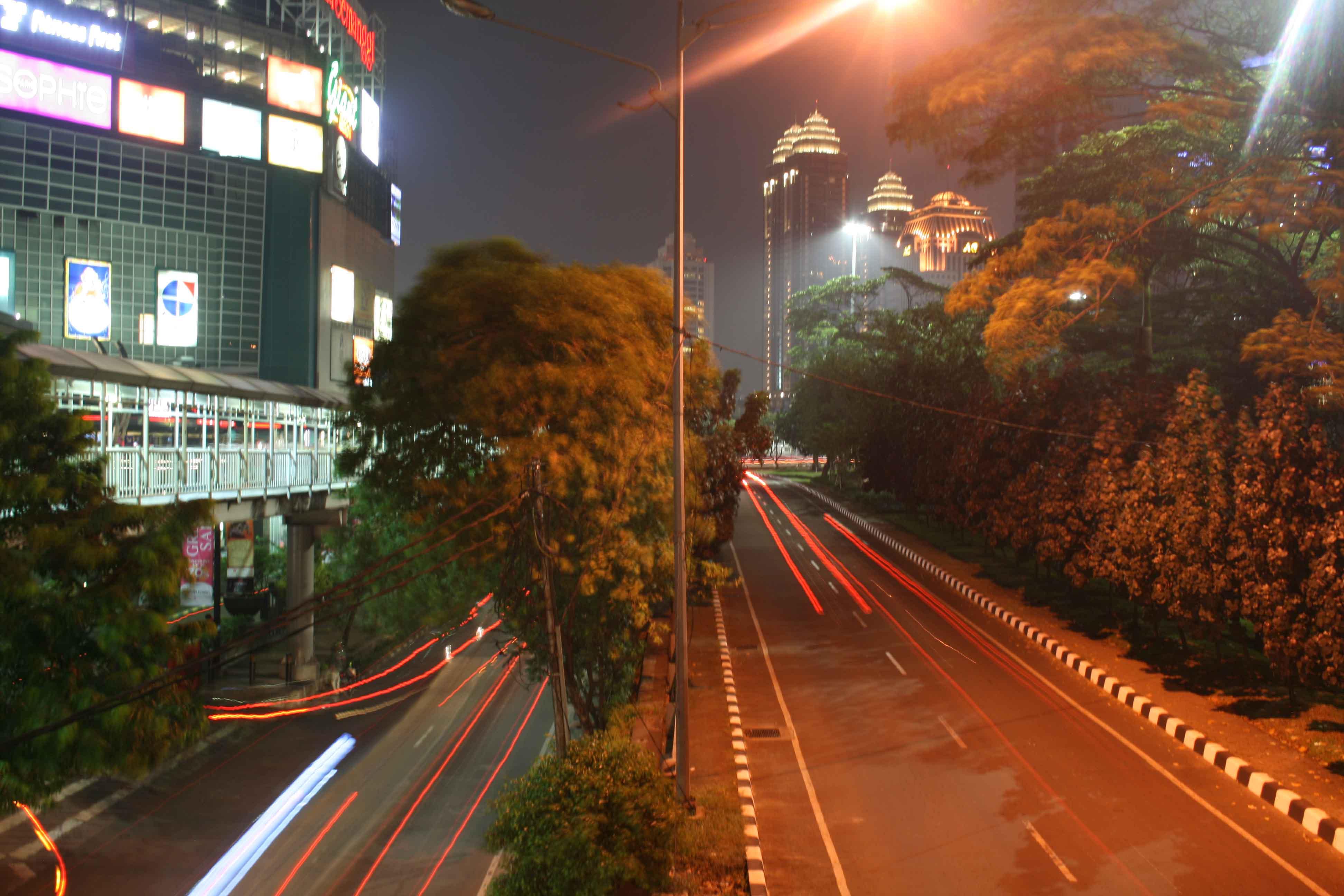 JAkarta de nuit