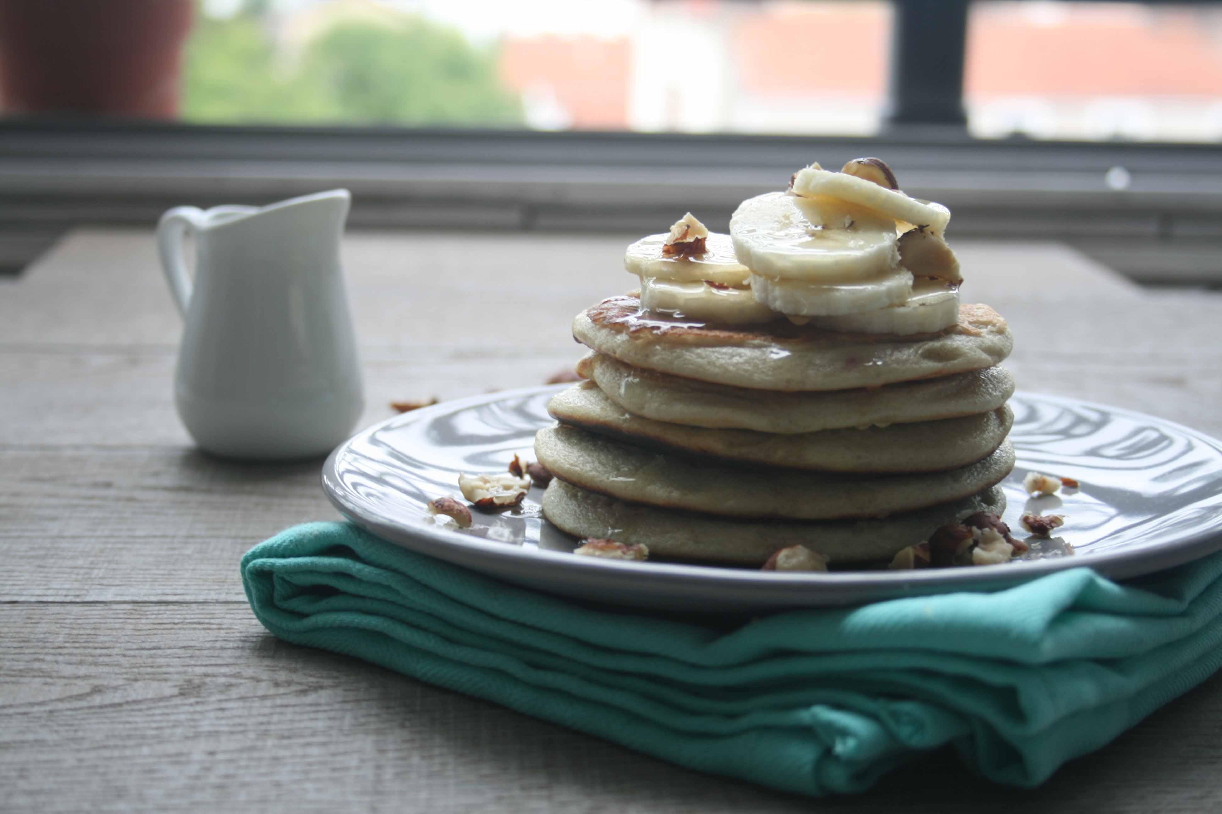 Pancakes à la fenetre