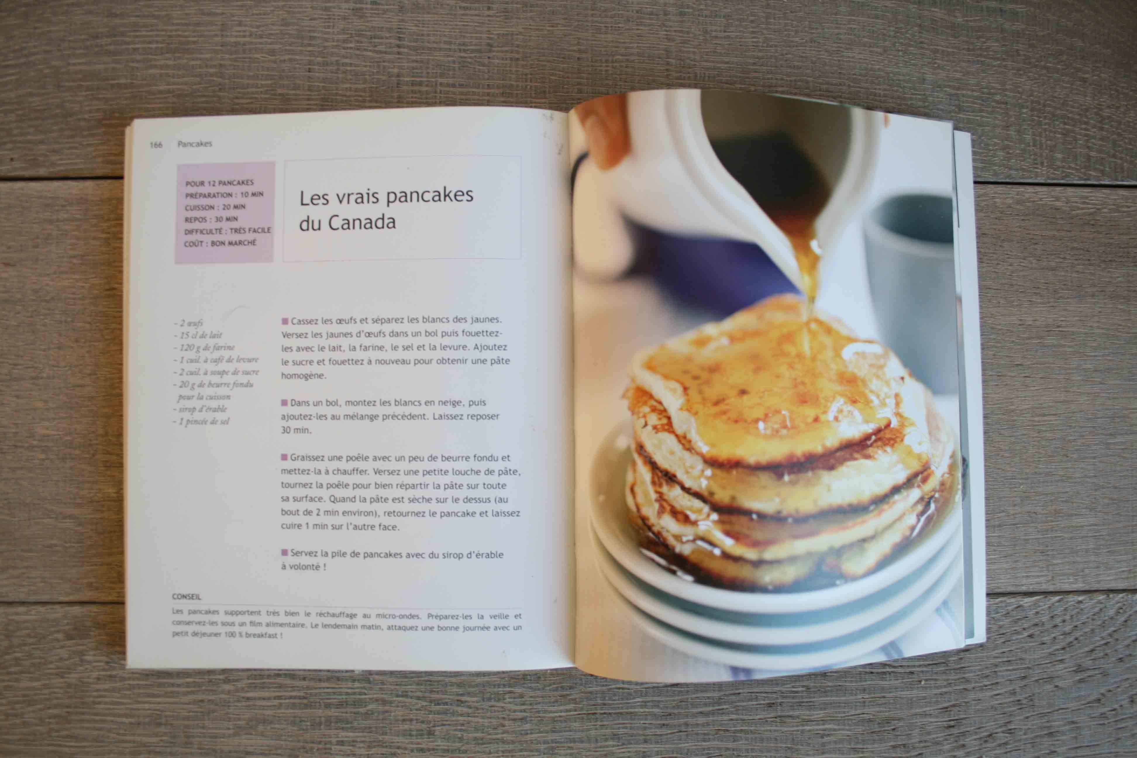 Recette de pancakes du Canada