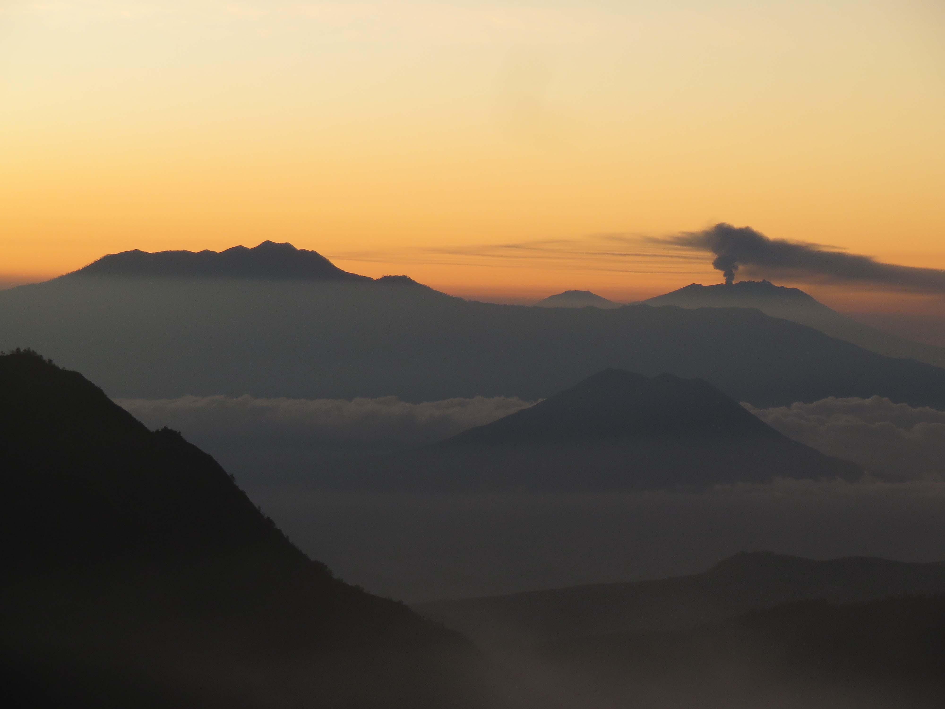 Zoom sur les montagnes