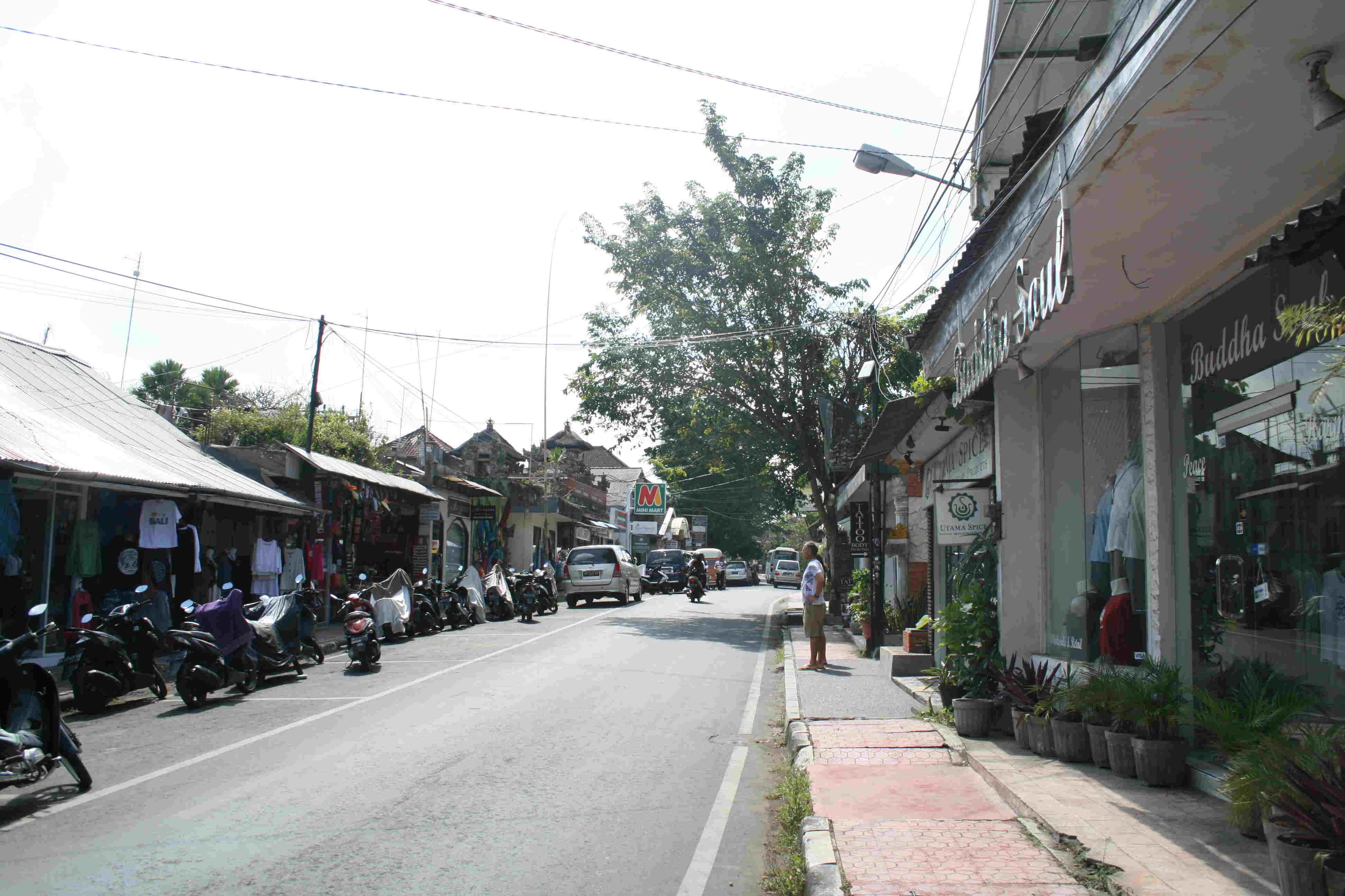 Rue à Ubud