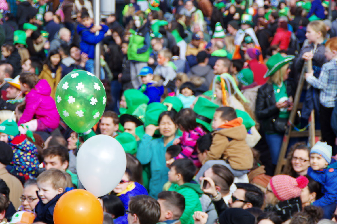 Balloons in PAddys day