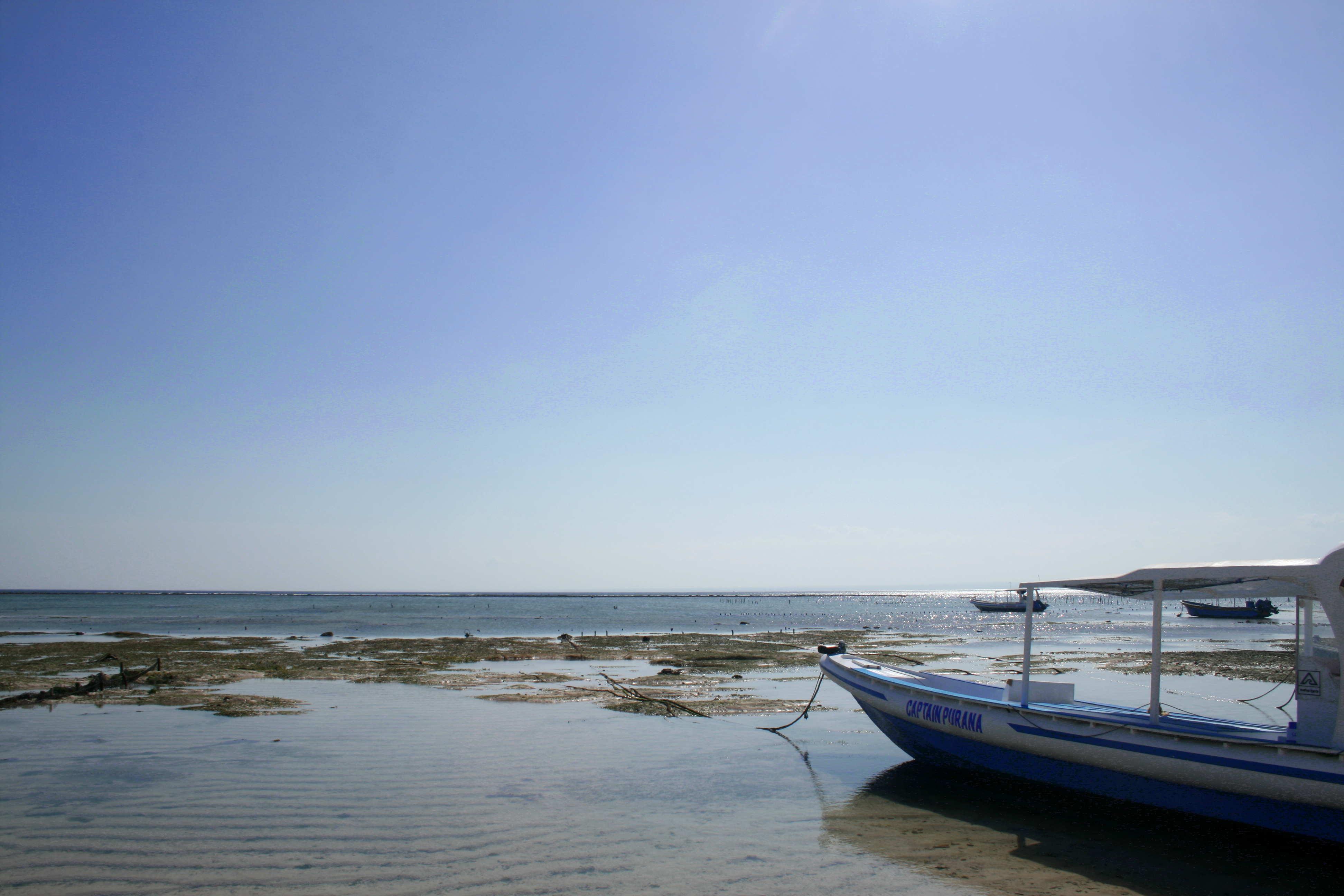 Boat in Lembongan