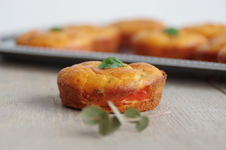 Muffin à la tomate