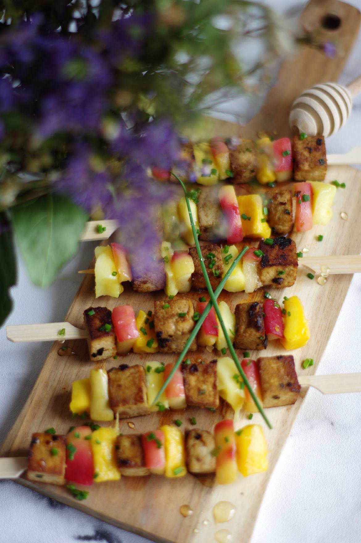 Brochettes Tofu