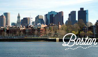Boston : ensoleillée, enneigée et fleurie