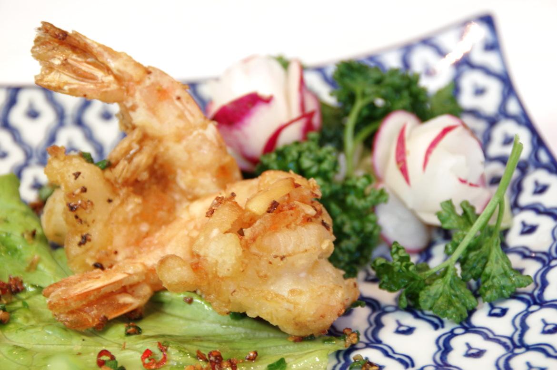 salt pepper shrimps