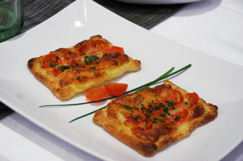 Tartelette tomate mozza