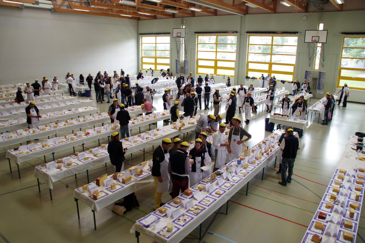 Jury pour le Swiss cheese awards