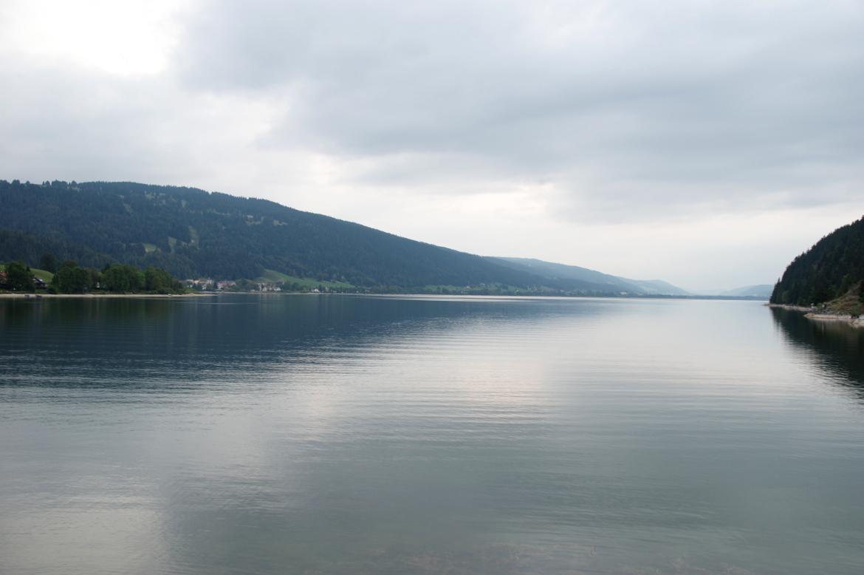 L'horizon sur le lac