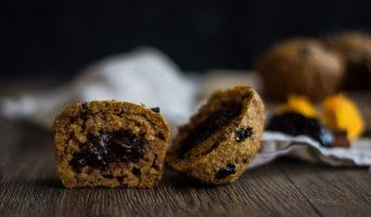 Muffins au Potimarron et aux Pruneaux d'Agen